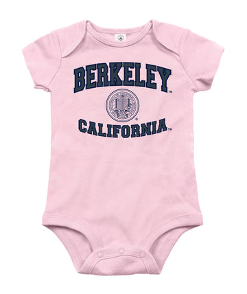 UC Berkeley Cal Infant onesie-Pink