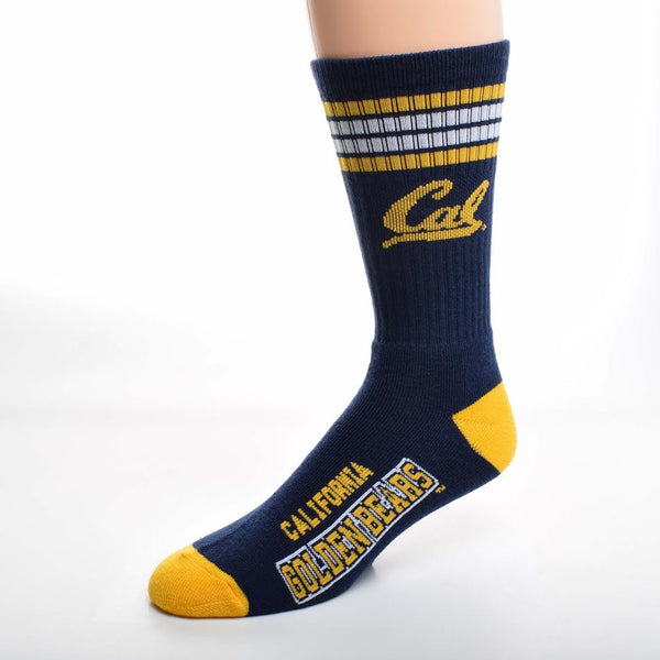 UC Bekeley Cal Knit Socks - Navy-Shop College Wear