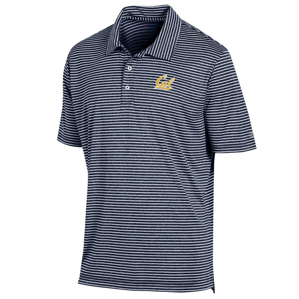 UC Berkeley Cal Embroidered Champion Men's Polo shirt-Navy-Shop College Wear