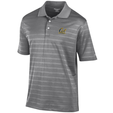 UC Berkeley Cal Embroidered Champion Polo-Charcoal
