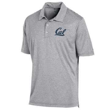 University Of california Berkeley Cal embroidered Performance Dry Polo-Gray