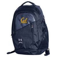 U.C. Berkeley Cal Under Armour hustle 4.0 backpack - Navy-Shop College Wear
