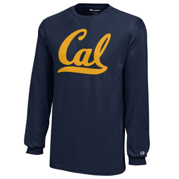 University Of California Berkeley Champion Youth Long Sleeve T-Shirt