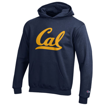 UC Berkeley Cal Champion Youth Hoodie Sweatshirt-Navy
