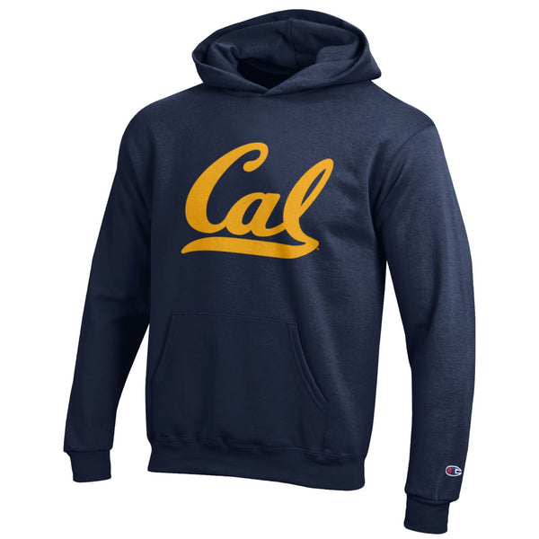 UC Berkeley Cal Champion Youth Hoodie Sweatshirt-Navy-Shop College Wear