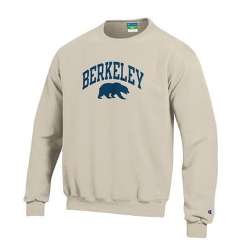 University Of California Berkeley Cal Youth Champion Sweatshirt-Oatmeal