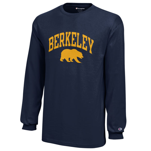 University Of California Berkeley Champion Youth Long Sleeve T-Shirt-Shop College Wear