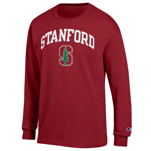 Stanford Cardinals Men's Long Sleeve T- shirt-Cardinal-Shop College Wear