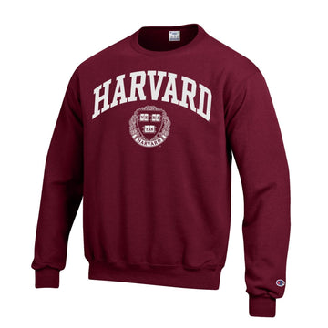 Harvard Crimson Men's Champion Crew-Neck Sweatshirt