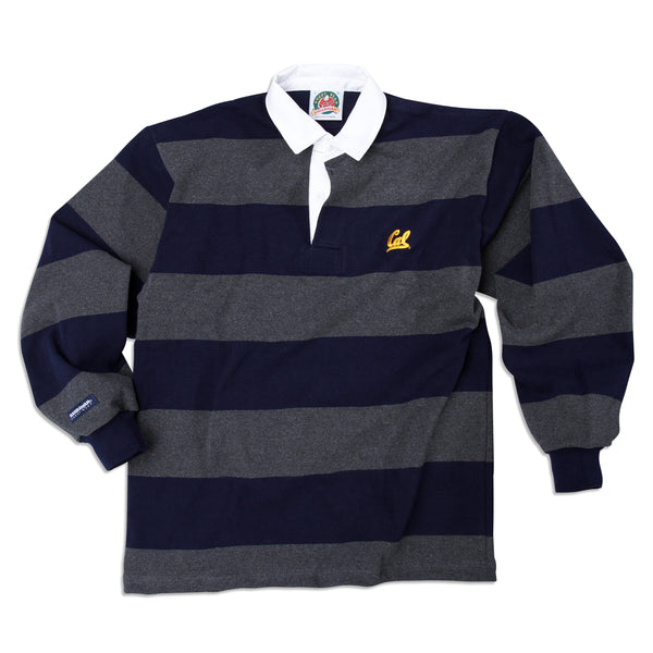 UC Berkeley Cal rugby shirt-Charcoal-Shop College Wear