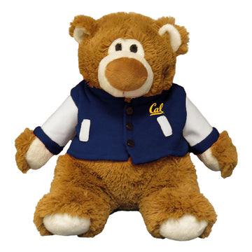 "U.C. Berkeley Cal 9"" Bella Varsity teddy Bear-Brown"