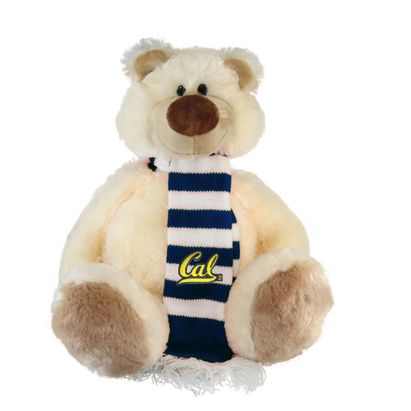 University Of California Berkeley Cal Plush Bear Iggy With Scarf-Shop College Wear