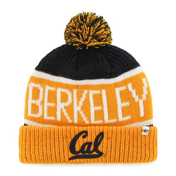 U.C. Berkeley Cal Bears Beanie Hat-Navy-Shop College Wear