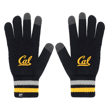 UC Berkeley Cal Embroidered  Texting Gloves