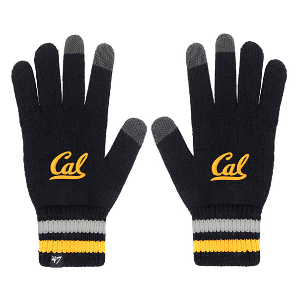 UC Berkeley Cal Embroidered Texting Gloves-Shop College Wear
