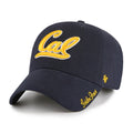 U.C. Berkeley Cal Bears women's adjustable hat-Navy