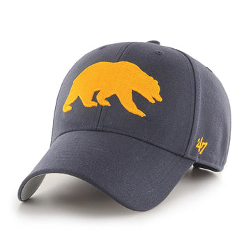 U.C. Berkeley Cal embroidered adjustable hat-Navy