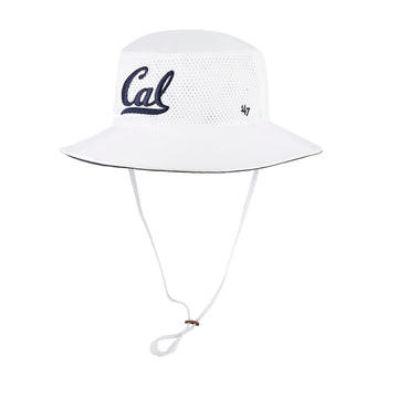 University of California Berkeley Cal bucket-fisherman hat - White