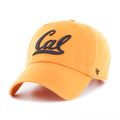 U.C. Berkeley Cal Bears Embroidered Adjustable hat-Gold