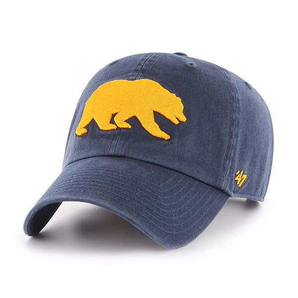 UC Berkeley Cal Men's 47 Brand Adjustable Hat- NAVY-Shop College Wear