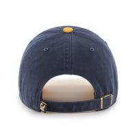 U.C. Berkeley Cal Bears embroidered two tone clean up hat-Navy-Shop College Wear