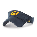 UC Berkeley Golden Bears Cal Visor by 47 Brand- Navy