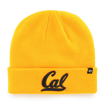 U.C. Berkeley Cal Bears beanie hat-Gold