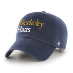 U.C. Berkeley Haas adjustable hat-Navy-Shop College Wear