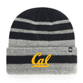 U.C. Berkeley Cal Bears beanie hat tweed-Navy