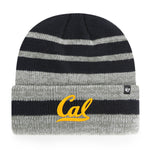 U.C. Berkeley Cal Bears beanie hat tweed-Navy-Shop College Wear