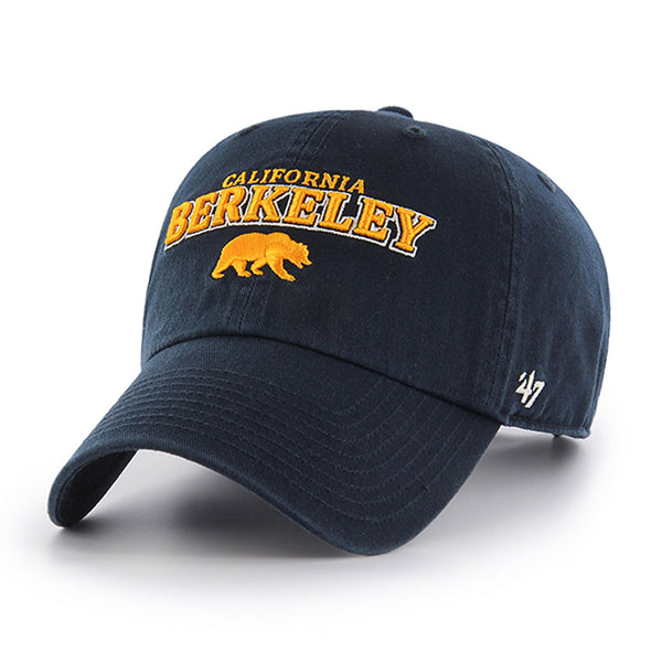 University of California Berkeley adjustable baseball cap-Navy-Shop College Wear