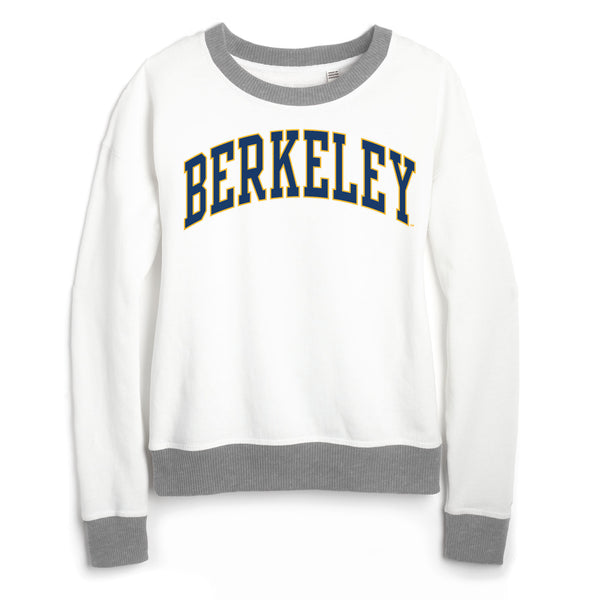 UC Berkeley Cal League Women's Sweatshirt-White-Shop College Wear