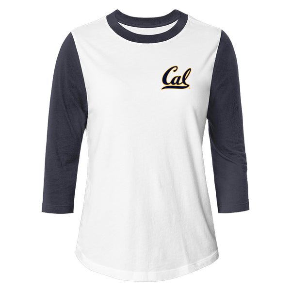 UC Berkeley Cal League Women's Baseball T-Shirt-Shop College Wear