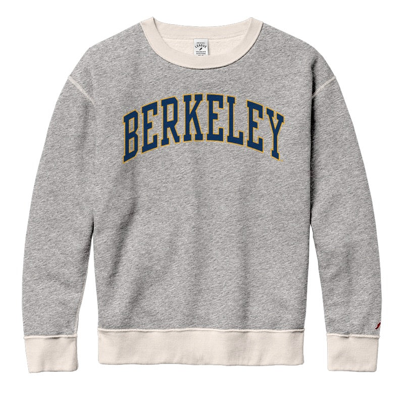 UC Berkeley Cal League Women's Sweatshirt-Grey-Shop College Wear