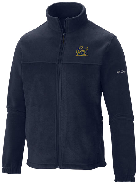 UC Berkeley Cal Embroidered Columbia Jacket - Navy-Shop College Wear