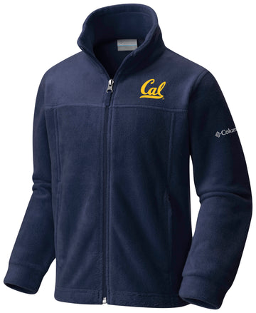 UC Berkeley Cal Embroidered Columbia Youth Jacket - Navy