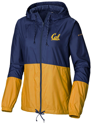 U.C. Berkeley Cal Columbia Women's windbreaker-Navy