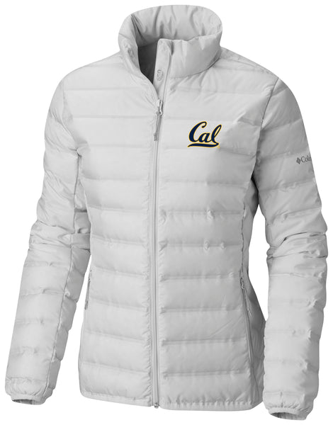 University Of California Berkeley Cal Embroidered Columbia women's Jacket-White-Shop College Wear