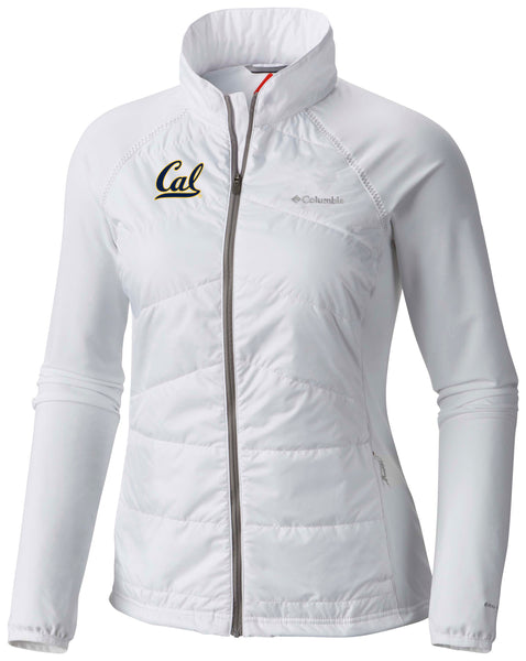 University Of California Berkeley Columbia Women's Jacket-White-Shop College Wear