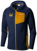U.C. Berkeley Cal Bears Columbia Men's hoodie Jacket-Navy