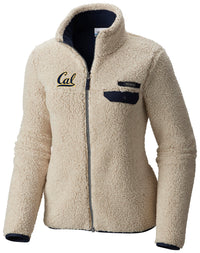 U.C. Berkeley Cal embroidered Columbia Women's Mountainside Jacket-Tan-Shop College Wear
