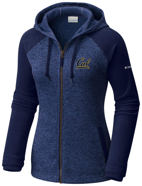 UC Berkeley Cal Embroidered Columbia Women's Jacket-Navy-Shop College Wear