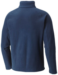 U.C. Berkeley Cal embroidered Columbia half zip men's fleece jacket-Navy-Shop College Wear