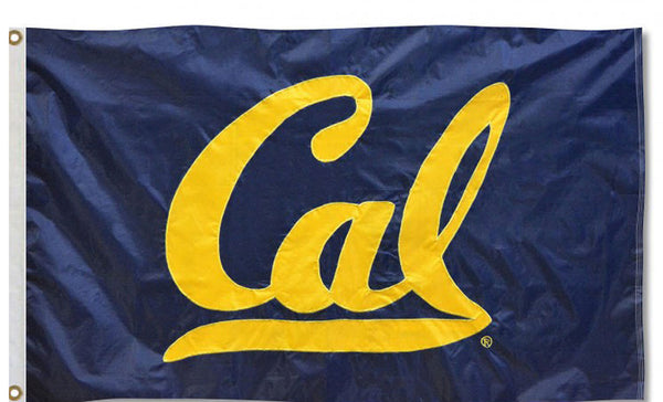 UC Berkeley Cal Nylomax 3'by5' Flag - NAVY-Shop College Wear