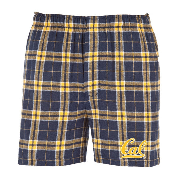 University Of California Berkeley Team Pride Cal Boxer Short - Navy gold-Shop College Wear
