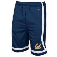 University Of California Berkeley Champion Mens Cal Basketball Short - Navy-Shop College Wear
