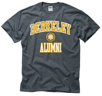 University Of California Berkeley Mens Alumni T- Shirt - Charcoal-Shop College Wear