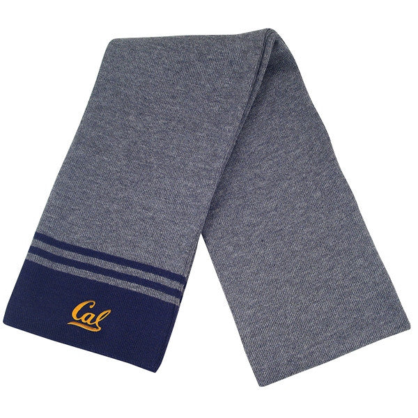 University Of California Berkeley Cal Bears Scarf- Charcoal-Shop College Wear