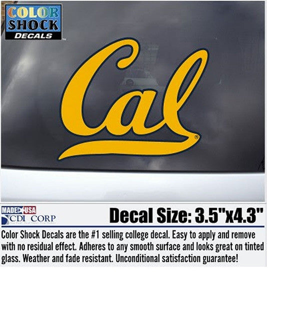 university Of California Berkeley Cal Decal-Shop College Wear