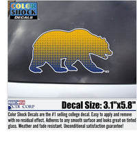 University Of California Golden Bears Decal-Shop College Wear